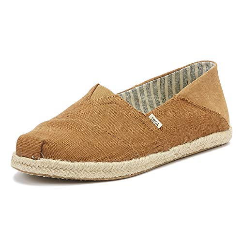 TOMS Men Alpargata Convertible On Rope Dark Mustard heren espadrilles