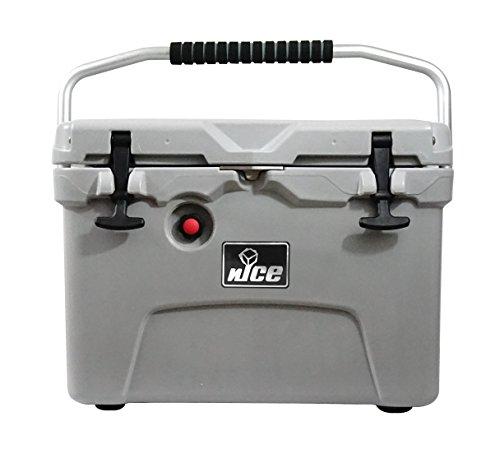 nICE 20 Qt Cooler, Gray