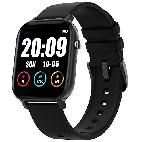 GBD Smart Watch for Women Men - Waterproof Fitness Tracker with Heart Rate Blood Pressure Oxygen Monitor, Running Pedometer Calorie - Sport Activity Tracker Smartwatch for iPhone Android Phone
