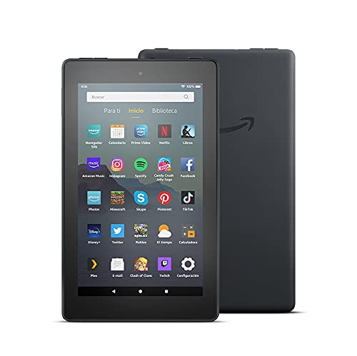 Tablet Fire 7, pantalla de 7'', 32 GB (Negro) -...