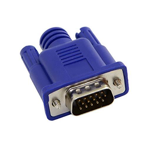 Virtueller Displayadapter für VGA RGB Monitor Dummy Stecker Headless Ghost Display Emulator 1920 x 1080 p bei 60 Hz