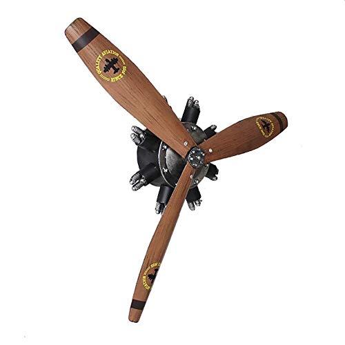 MKJYDM Tapices, Decoración De Pared De Hélice De Avión, Colgante De Decoración De Barra KTV Escultura de la Pared