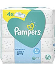 Pampers Complete Clean, 256 Wipes