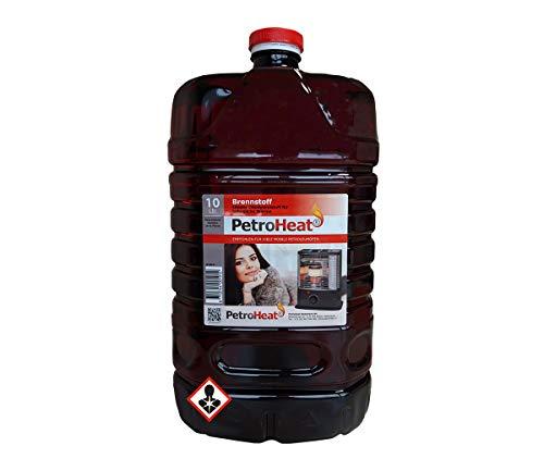CAGO Petroleum 10 L Liter Kanister für Petroleum Ofen Heizofen geruchsarm 20