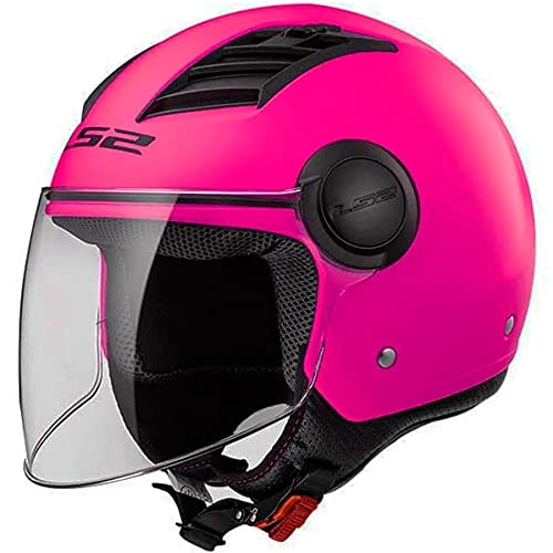 Capacete LS2 Airflow OF562 Monocolor Rosa 58/M