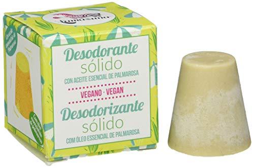 Lamazuna Desodorante sólido con aceite esencial de Palmarosa 30 g