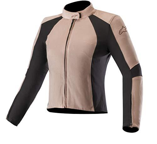 Alpinestars Motorradjacken Vika V2 Womens Vegan Suede Jacket Blush Pink Black, Rosa, 40
