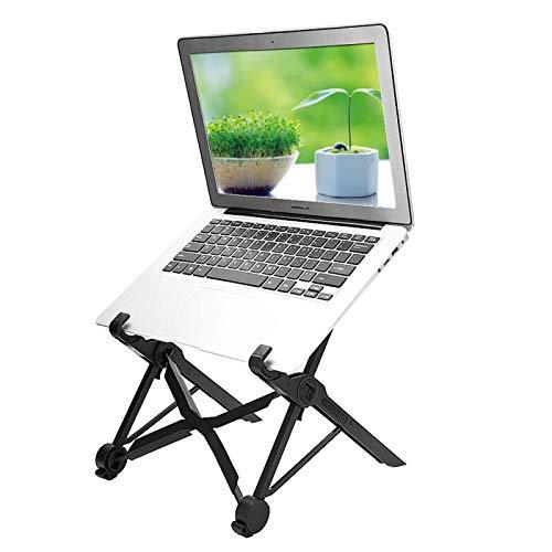 Mugast Supporto per Laptop Supporto per Laptop Desktop Portatile Pieghevole, Supporto per Altezza Regolabile Leggero Universale per Notebook e Laptop di Dimensioni da 11.6 Pollici e Oltre