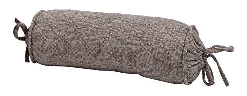 Amadeo Novell Riñonera Crochet, Algodón, Gris, 18x42x16 cm