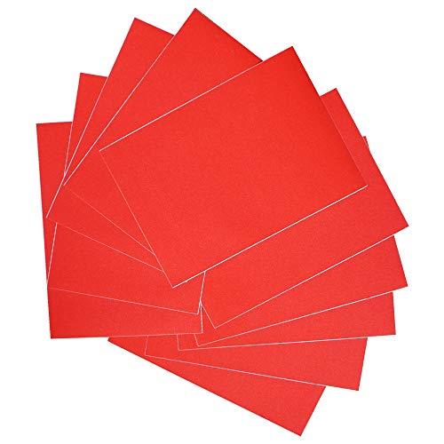 Gnognauq Juego de 10 Hojas de Cartulina Brillante A4 Cartulina de Brillo Papel Fotográfico Cartón para Tarjetas de...