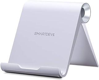スマホスタンド SmartDevil 携帯電話スタンド 卓上 iPhone XS/XS Max/XR/X スタンド 折りたたみ式 角度調整可能 4~9.7インチのiPhone Sony Xperia, Nexus Androidスマホ タブレットに適用 スマホホルダー