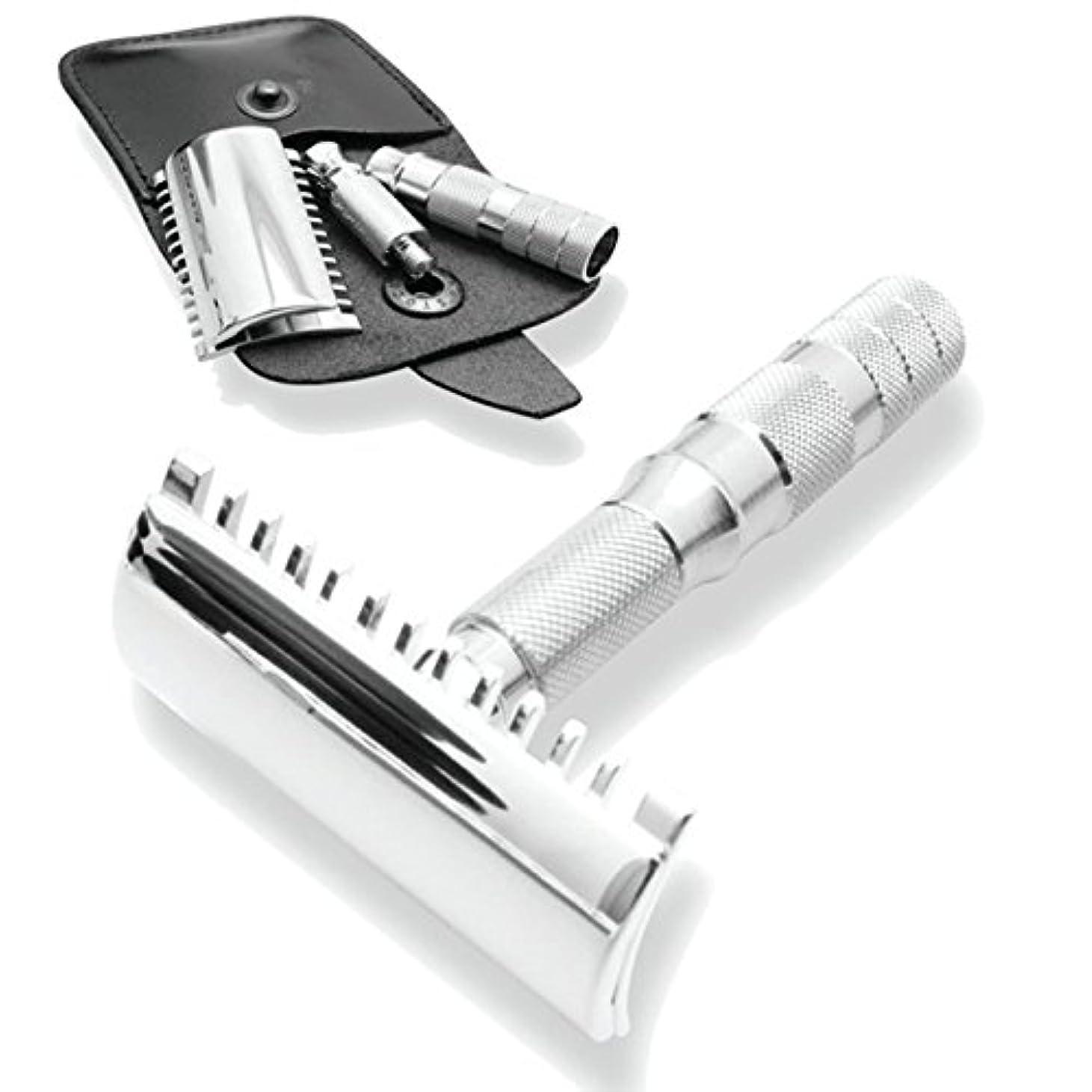 家主空の売上高Merkur & Dovo Open Tooth Comb Travel Razor