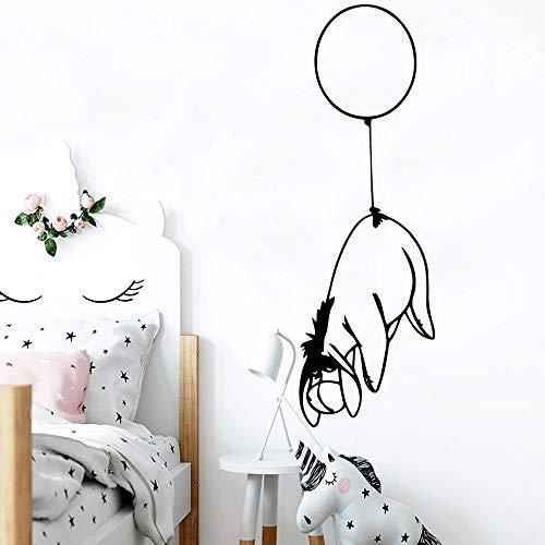yaonuli Ballon hond muursticker decoratie sticker huishoudtextiel waterdichte muursticker ruimte huishoudtextiel