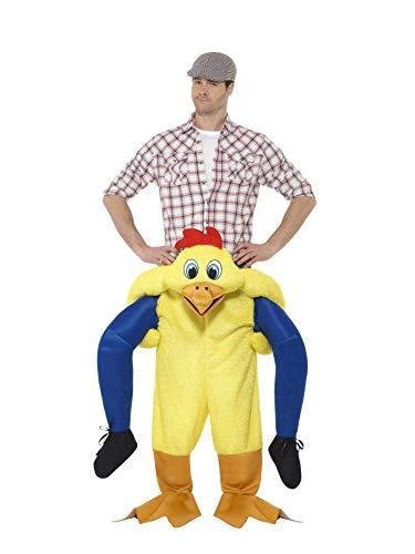Smiffys 48812 Huhn-Kostüm von Smiffy, gelb, Einheitsgröße