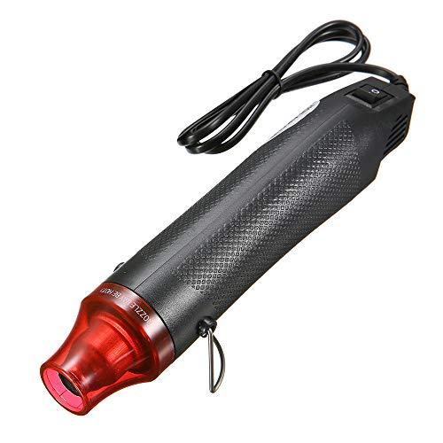 MMOBIEL Pistola aire caliente portátil de mano calentador soplador 300W para bricolaje manualidades secado de pintura