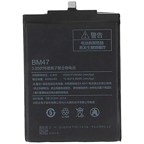 Ellenne Batería compatible con Xiaomi Mi Redmi Pro BM47 de alta capacidad 4000 mAh con kit de desmontaje incluido
