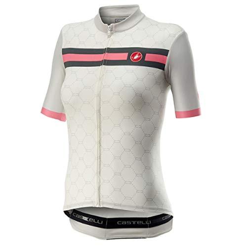 CASTELLI Atelier Damen-T-Shirt S Elfenbein
