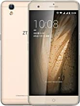 ZTE Blade V7 Max (Side Panel Multi Function Finger Print Sensor) (Gold)