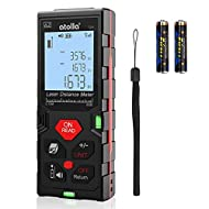[Various measuring modes from 0.15 to 60m] - the atolla Laser Distance Meter is designed for indoor as well as for outdoor construction sites. It has different measurement modes: single measurement, continuous measurement (with Min/Max function) and ...