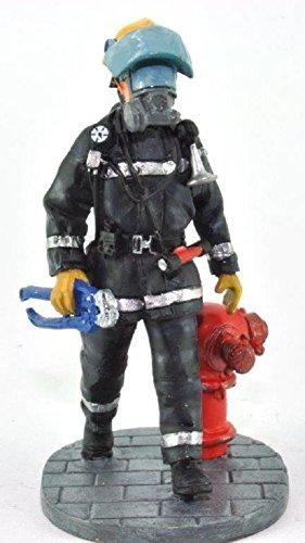Del Prado Sammelfigur Feuerwehrmann Firefighter Figur Hong Kong 2003 1:32 ca. 7 cm Metall