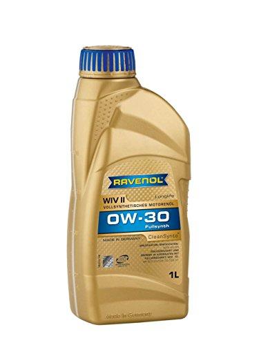 RAVENOL WIV SAE 0W-30 / 0W30 volledig synthetische motorolie Longlife (1 liter)
