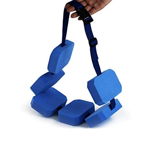 Cinturón de natación, espuma de flotabilidad de flotación auxiliar extraíble de EVA, ejercicio acuático para niños, ayuda para el entrenamiento de natación, cinturón de cintura, seguridad de flotabi