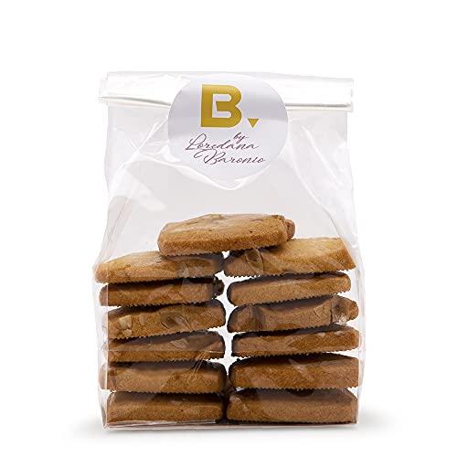 200g de galletas crujientes de almendras, hechas a mano en Italia, fragantes y consistentes.