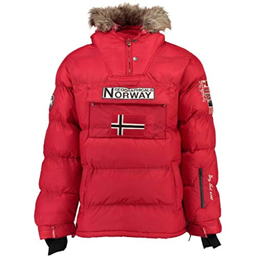 Geographical Norway Chaqueta Hombre BOKER Rojo S