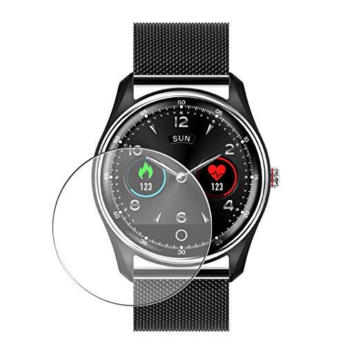 Vaxson 3 Stück Schutzfolie, kompatibel mit Smartwatch smart watch X9, Displayschutzfolie TPU Folie [ nicht Panzerglas ]