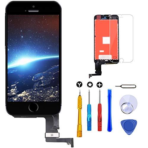Brinonac Pantalla para iPhone 8, 4.7' Táctil LCD de Repuesto Ensamblaje de Marco Digitalizador con Herramienta de reparación y Protector de Pantalla (Negro)
