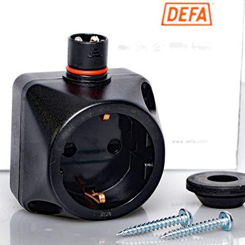 DEFA 460829 Steckdose für Heizlüfter Termini 230V Power Point Innen + Schrauben