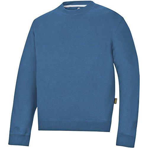 Snickers 28101700003 Polar Sweatshirt Größe XS in ozeanblau
