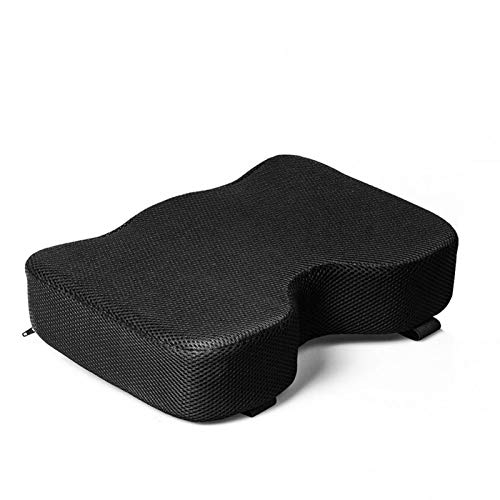Rowing Machine Seat Cushion for Concept 2, Model D & E, Indoor Water Rower Machine Seat Pad with Washable Cover, Resistance Rowing Machine Cushion Memory Foam Washable Sleeve Sports Horizontal