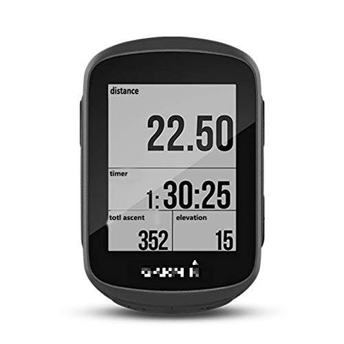 Lshbwsoif Ciclo Ordenadores Inalámbrico Bicicleta GPS Cronómetro Inteligente Bicicleta Ordenador Bicicletas Odómetro Veloc