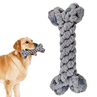 SMALL AND MEDIUM-SIZED PET ROPE TOYS: designed for small and medium-sized dog chewers, 15 cm long, brightly colored, vivid rope toys can divert your dog's bite target and forget about boredom. SAFE AND STURDY MATERIAL: our pet rope toys are made of t...