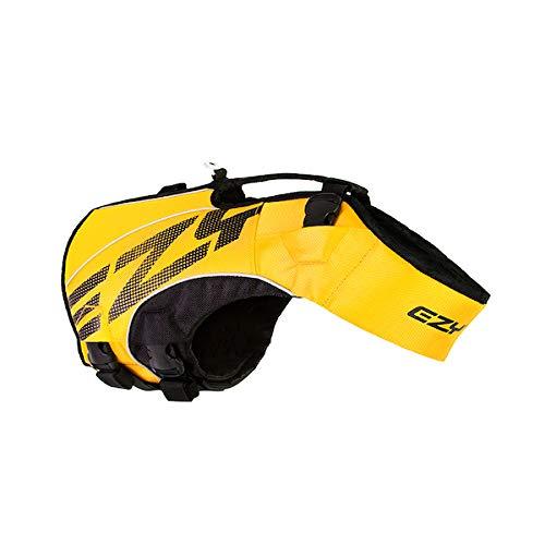 EzyDog X2 Boost-Schwimmweste für Hunde, Größe XS, Gelb