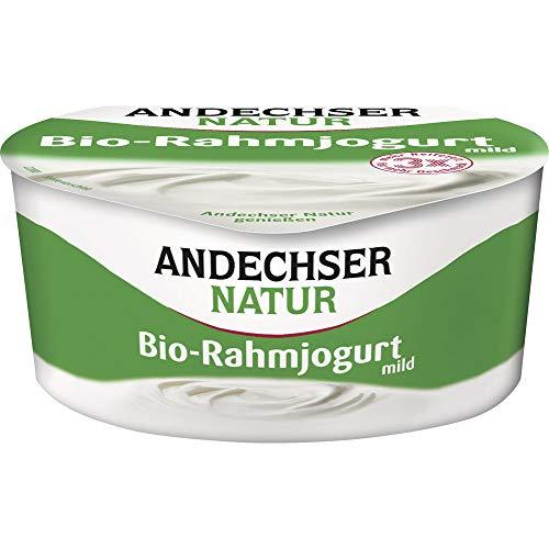 Andechser Natur Bio Bio Rahmjogurt 10% (6 x 150 gr)