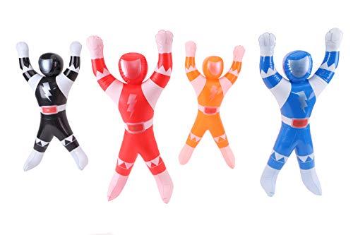 TOYLAND Juguete Inflable de guardabosques de 22 Pulgadas - Llenadores de Bolsos de Fiesta para niños - Decoraciones para Fiestas - 1 elegido al Azar