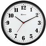Relógio de Parede Decorativo Preto 26 cm Herweg 6126-34