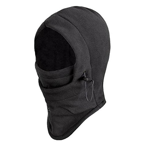 ECYC® Winter Windproof RandonnéE Caps Thermique Masque Balaclava Masque Visage, Noir