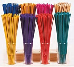 Euroscents Difussion Emim - Mazo de 100 Sticks Incienso 32 cm - 10 Aromas Diferentes - versión 3