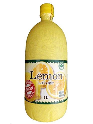 レモン果汁(業務用)1L 果汁100% 着色料不使用