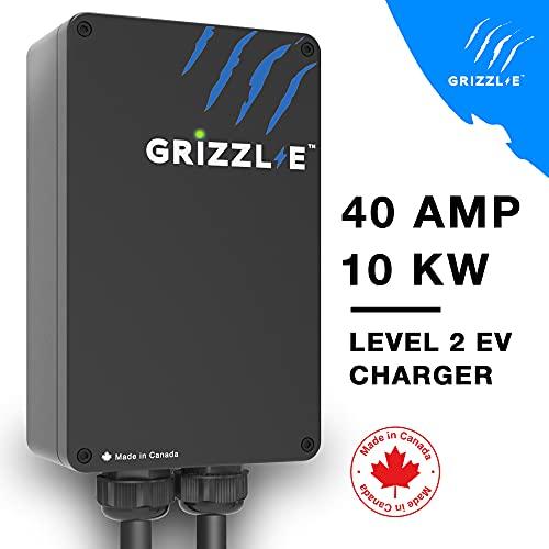 Grizzl-E Level 2 EV Charger, 16/24/32/40 Amp, NEMA...