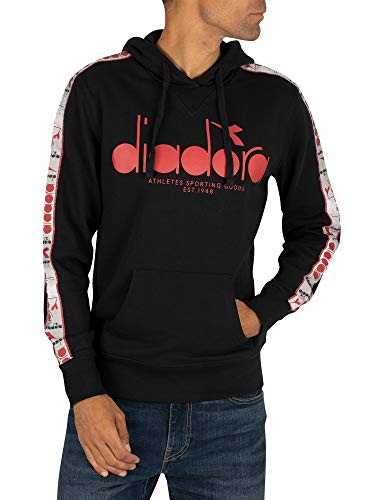 Diadora - Felpa Hoodie 5PALLE Offside per Uomo (EU S)