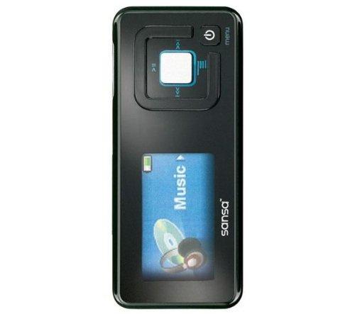 SanDisk Sansa c 240 Tragbarer MP3-Player 1 GB mit FM-Tuner schwarz