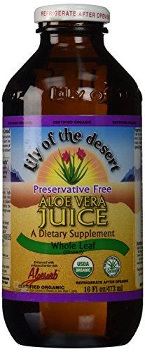 Aloe vera Jus Bio - 473 ml - Lily of the desert