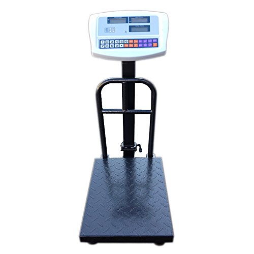 100KG with Bracket Netta Heavy Duty Digital Platform Postal Parcel Scales