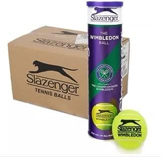 SLAZENGER WIMBLEDON TENNIS BALLS - 6 DOZEN - 18 X 4 BALL CANS by Slazenger