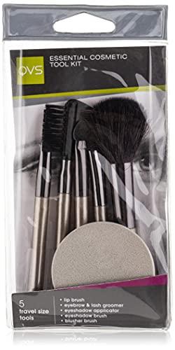 QVS Five Piece Kit de pinceaux à maquillage
