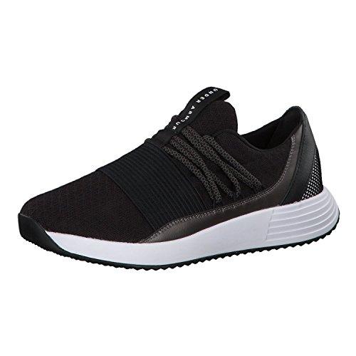 Under Armour Women's Breathe Lace Sneaker, Black (001)/White, 7